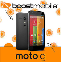 MOTO G Boost Mobile by Motorola - Android Smartphone with 8GB & 4.5 Scre... - $69.25
