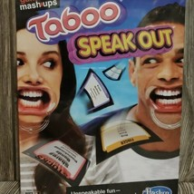 Hasbro Game Mashup -Taboo Speak Out Party Family Board Game - NEW Factory Sealed - $16.78