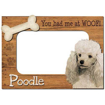 Poodle 3-D Wood Photo Frame - $14.95