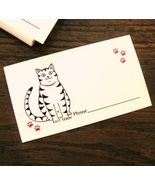 Kitty Cat Business Cards - (One Freebee with Purchase!) - $0.00