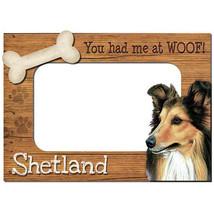 Shetland Sheepdog 3-D Wood Photo Frame - $14.95