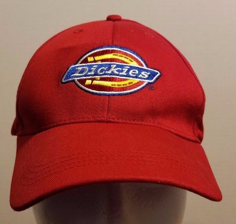 d32a9ea9 Dickies Red Velcro Adjustable Baseball Cap and 50 similar items