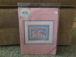 1986 Dimensions FRIENDS ARE ALWAYS WELCOME Needlepoint SEALED Kit #52003 - $14.85