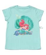 NWT Disney Ariel Little Mermaid Shirt Girls XXS... - $14.99