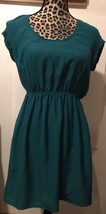 URBAN OUTFITTERS SILENCE AND NOISE GREEN OPEN BACK HOLIDAY PARTY DRESS S... - £13.33 GBP