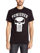 Marvel Men's Punisher Logo T-Shirt - £8.87 GBP - £15.38 GBP