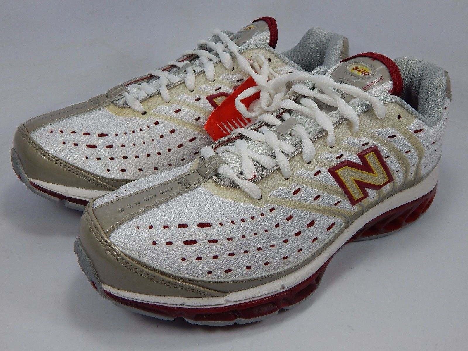 New Balance Zip 8507 Women's Running Shoes Sz US 8.5 M (B) EU 40 White WR8507NB