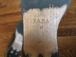 Size Cap ZARA Brown Leather 43 MAN Toe Dress Men's Shoes w8wRqSB