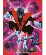 1992 Marvel Masterpieces #62 - Nightcrawler - $2.99