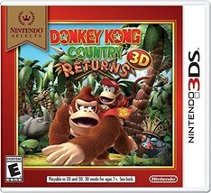 Nintendo Selects: Donkey Kong Country Returns 3D [video game] - $19.75