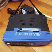 Linksys Wireless-G Broadband Router WRT54G V8 - $11.00
