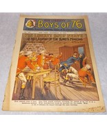 Liberty Boys of 76 Weekly Juvenile American Revolution Pulp Magazine Sep... - $19.95