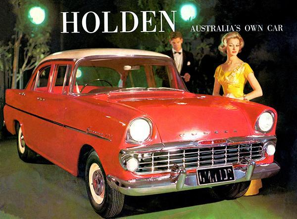 Primary image for 1961 Holden EK Special - Austalia's Own Car - Promotional Advertising Poster