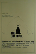 """The Graduate  - Dustin Hoffman / Anne Bancroft - Movie Poster Framed Picture 11"""" - $32.50"""