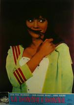 A Woman Is a Woman (Italian) - Jean Paul Belmondo - Movie Poster Framed Picture  - $32.50
