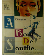 "A bout de souffle - Jean Seberg (French) - Movie Poster Framed Picture 11""x14"" - $32.50"