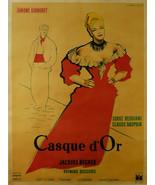 Casque d'Or (Golden Helmet) - Simone Signoret (French) - Movie Poster Framed Pic - £24.85 GBP