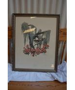 Richard Sloan artist Large Mocking Birds (2) picture 24.5 x 30.5 x 1 - 8... - $123.75