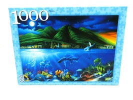 RARE F.X. Schmid Lahaina Moon Jigsaw Puzzle 1000 Pieces - Complete - $39.55