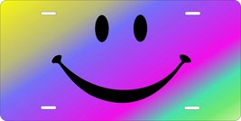 Colorful Smile Personalized Custom Novelty Tag Vehicle Car Auto Motorcyc... - $16.75