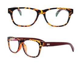 Fashion Mens Womens Wood Eyeglass Frames Rx-able Spectacles Glasses 51-18-141 - $19.26