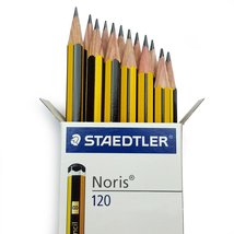Staedtler Noris 120 Premium Office Pencils - 2H Grade [Box of 60] - ₹1,670.48 INR