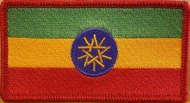 "[Single Count] Custom and Unique (4 "" x 2 1/4"" Inches) African Ethiopia FLAG ... - $5.93"