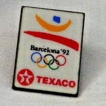 Olympic Barcelona '92 Texaco Pin Pinback - $8.55