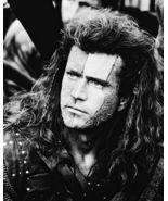 Braveheart Mel Gibson QP Vintage 8X10 BW Movie Memorabilia Photo - $4.99