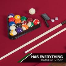 "87"" Billiard Pool Table 8 Ball Cue Stick Bank Shot Break Chalk Scratch Man Cave image 2"