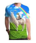 New Cat Rides Llama Llamacorn rainbow Spaceship... - £13.55 GBP - £19.19 GBP