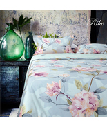 Riho 100% Cotton Rural Floral Bedding Girls Bedding Sets(4-Piece) - $66.99+