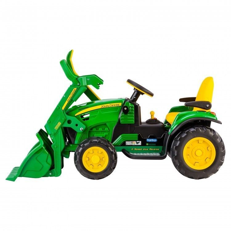 Kids Ride On Tractor Toy Loader Battery Powered 12v Child