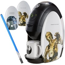 STAR WARS x NESTLE JAPAN Barista Coffee Machine maker Light side set R2-... - $452.43