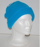 Men's 100% Acrylic Knit Beanie Cap Cyan blue NWT by Neff (One Size) - $6.40