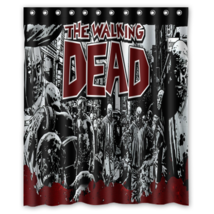 Walking Dead #02 Shower Curtain Waterproof Made From Polyester image 1