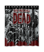 Walking Dead #02 Shower Curtain Waterproof Made From Polyester - $42.30 - $46.30
