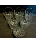 "Set of 10 Bormioli Selecta, ""On the Rocks  Glasses""Italian Import - $24.00"