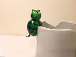 Home Grown Pot Sitter Watermelon Cat Play w your Food Sculpted