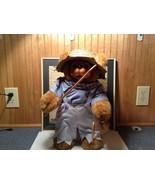 Raikes Bears Tom Sawyer Bear Wearing Hat Shirt Pants Wooden Face Vintage... - $99.00
