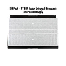 100 Pack Vector Universal ILT Replacement Glueboards Fly Light Glue Boards - $305.99