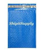 1-500 #000 4x8 Poly ( Blue ) Color Bubble Padded Bubble Envelopes Mailers - $0.98 - $69.29