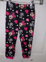 Disney Minnie Mouse Black Pajama Bottoms Size 4T Girl's NEW  - $18.99