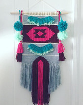 MADE TO ORDER !!! Weave wall hanging, Home deco... - $50.00