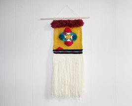 Weave wall hanging, Wall decor, Weaving, Tapest... - $45.00