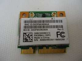 Toshiba Anatel PA3894U-1MPC Satellite L775D AR5B195 WiFi Wireless Half M... - $2.45