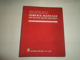 1980 Suzuki GS250T Service Repair Manual & Binder Stained Book 80 99000855510E3 - $31.64