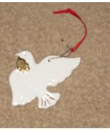 Studio Nova Fine Bone Chine White Dove Ornament... - $7.99