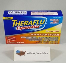 THERAFLU ExpressMax - Daytime Severe Cold & Cough Relief - 20 Caplets -E... - $5.25