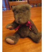 "Boyds Bear 1987 brown bear 11"" (CS24) - $6.00"